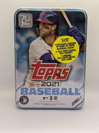2021 Topps Series 1 Tin Baseball Cards